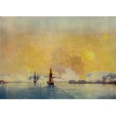 Arrival into sevastopol bay 1852