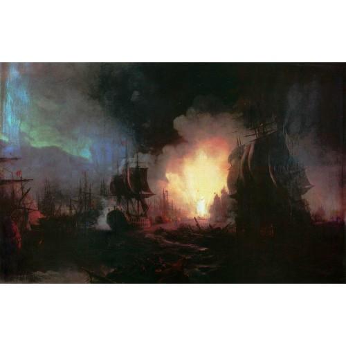 Battle of chesma 1886