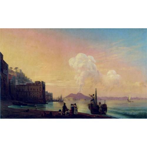 Bay of naples 1845