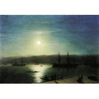 Bosphorus by moonlight 1874