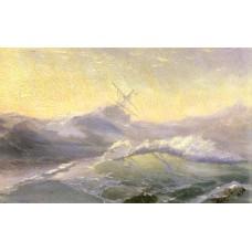 Bracing the waves 1890