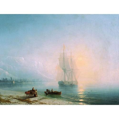 Calm sea 1863