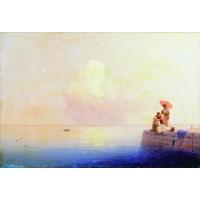 Calm sea 1879