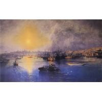 Constantinople sunset 1899