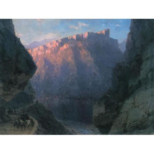 Darial gorge 1868
