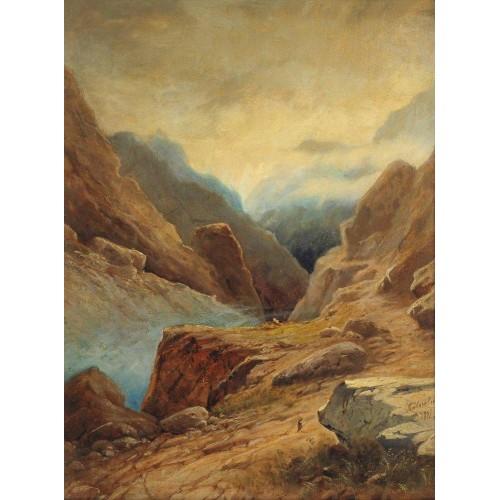 Darial gorge 1891