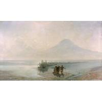 Dejection of noah from mountain ararat 1889