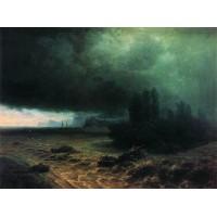 Downpour in sudak 1897