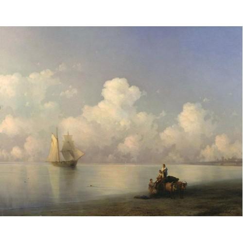 Evening at sea 1871