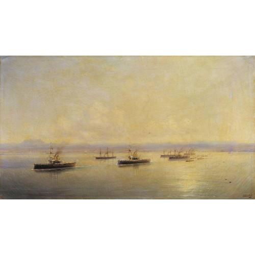 Fleet in sevastopol 1890