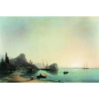 Italian landscape 1855