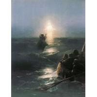 Jesus walks on water 1888