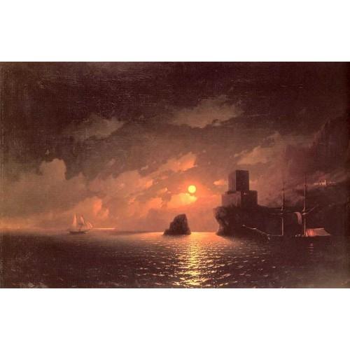 Lunar night 1849