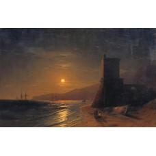 Lunar night 1862