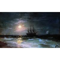 Lunar night 1870