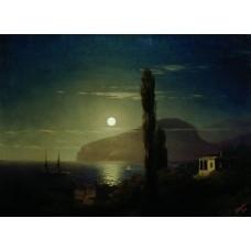 Lunar night in the crimea 1862
