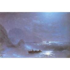 Lunar night on a sea 1895