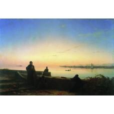 Mhitarists on island of st lazarus 1843
