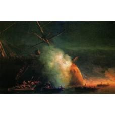 Mine attack 1877