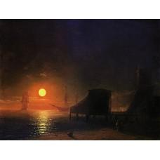 Moonlight in feodosia 1852