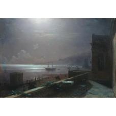 Moonlight in feodosia 1880