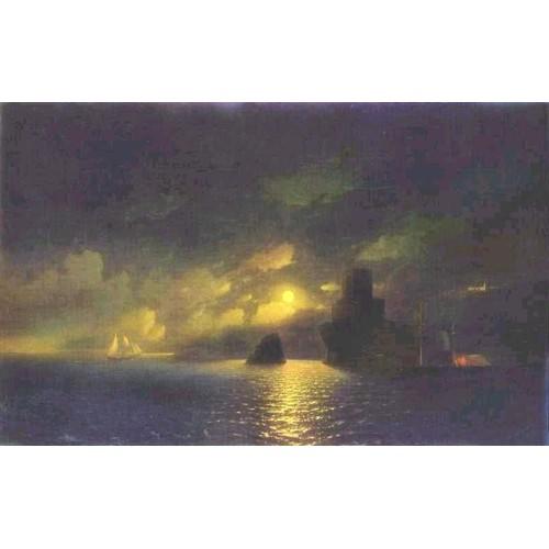 Moonlit night 1849