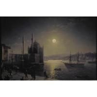 Moonlit night on the bosphorus 1894
