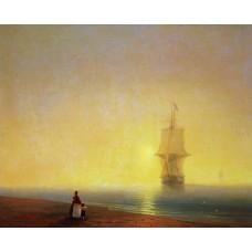 Morning at sea 1849