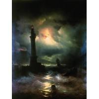 Neapolitan lighthouse 1842