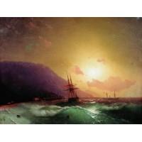 Near coast of yalta 1864