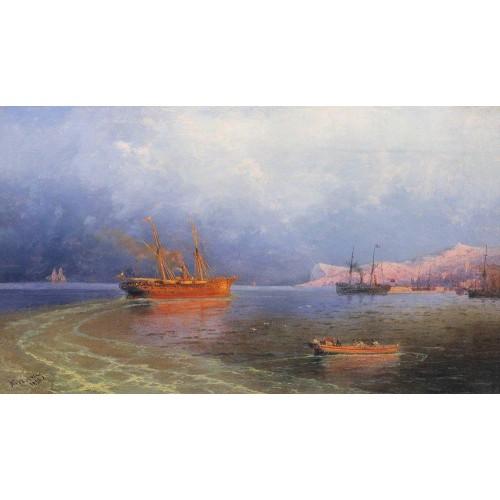 Near coast of yalta 1894