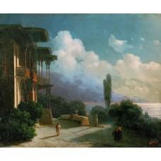 Night near yalta 1866