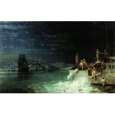 Night tragedy in the sea of marmara 1897