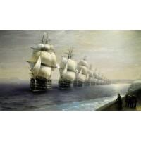Parade of the black sea fleet