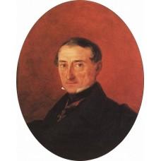 Portrait of a i kaznacheev 1847