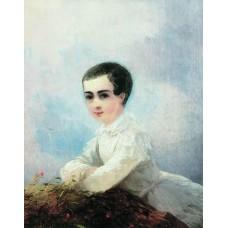 Portrait of i lazarev 1851
