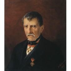 Portrait of khalibjan mayor of the new nakhichevan 1862