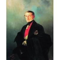 Portrait of senator alexander ivanovich kaznacheyev 1848