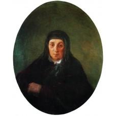 Portrait of the artist s grandmother ashkhen 1858