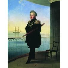 Portrait of vice admiral m p lazarev 1839