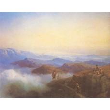 Range of the caucasus mountains 1869