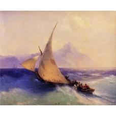 Rescue at sea 1872