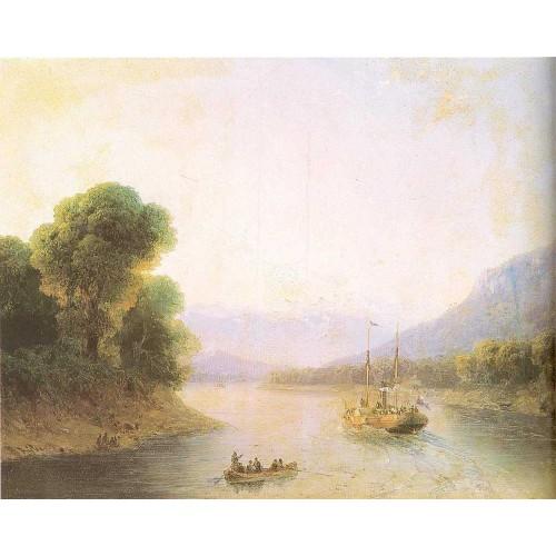 River rioni georgia 1880