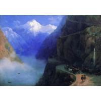 Roads of mljet to gudauri 1868