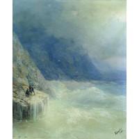 Rocks in the mist 1890
