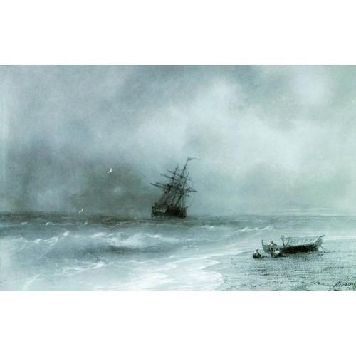 Rough sea 1844