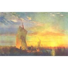 Rush on dnepr near aleshki 1857