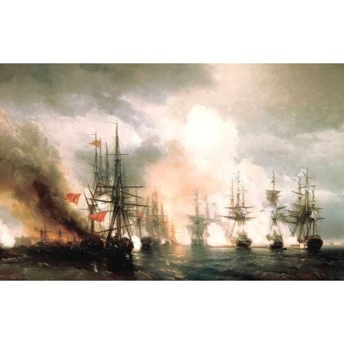 Russian turkish sea battle of sinop on 18th november 1853 1853