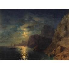 Sea at night 1861