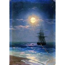 Sea at night 2